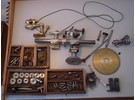Rare and Antique Watchmaker Milling Machine with Wheel Cutting Attachment