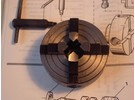 Emco Unimat 3 Accessories: 4-jaw independent chuck