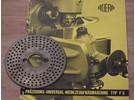 Sold: Aciera F3 Dividing Head dividing plate 1