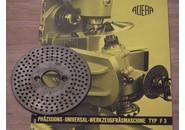 Verkauft: Aciera F3 Universal-Teilapparat Teilscheibe 1