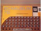 Sold: Schaublin B8 watchmaker ø8mm collets 0.2mm-8mm 44 Pieces