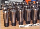 Schaublin W25 Collets 6-16mm 21 pieces
