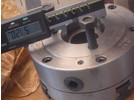 Emco self centering 4-jaw chuck ø140mm for Super 11 or Compact 10