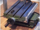 Verkauft: Saim Kreuztisch mit Heidenhain Positip 855 und KT 130 edge finder