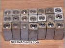Hommel UWG 1/2 Collet Set ø2-12mm 0,5mm ascending