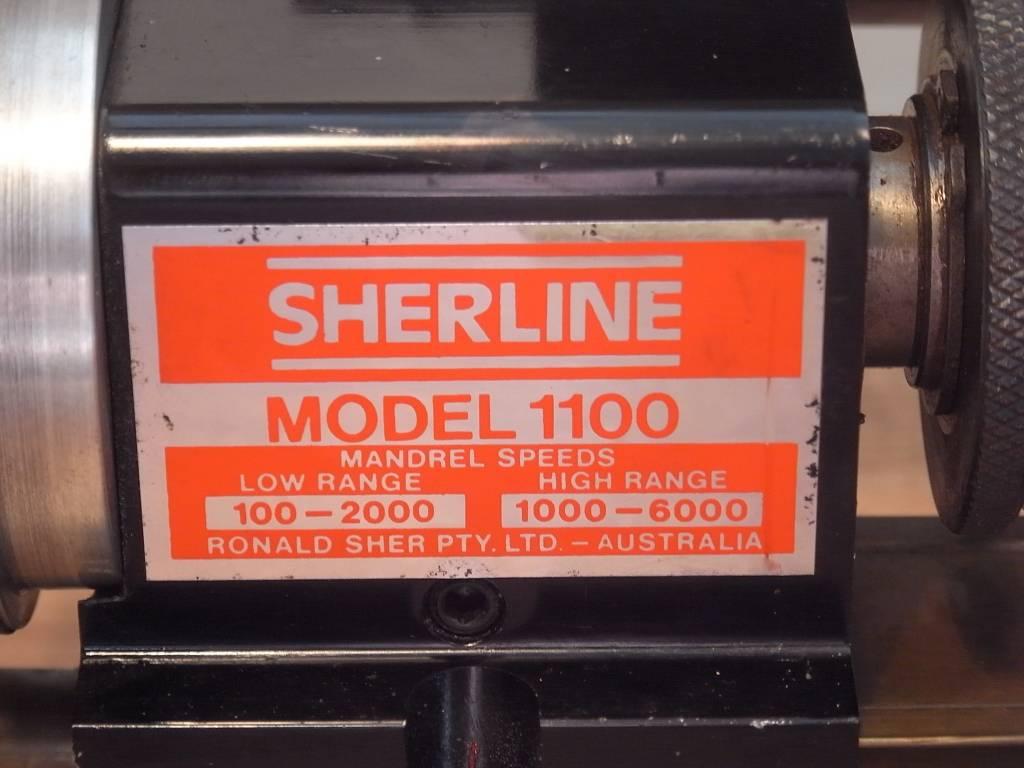 Sherline Model 1100 Mini Lathe