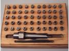Kaiser 50 pieces collet set 1 morse taper