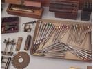 Sammlung Uhrmacherwerkzeuge