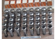 Schaublin W20 collets 0.5mm-20mm 40 pieces