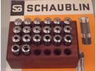 Schaublin 70 W12 Collets set 0.5-10mm 20 Pieces