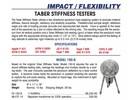Taber Instruments V5 Stiffness Tester Model 150b