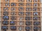 Verkauft: Große Collection Räderfräsen für den Uhrmacher