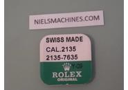 NOS FACTORY SEALED Rolex Genuine Caliber 2135 Tapped Foot For Cam Yoke Spring - Part 2135-7635 (5 pieces)