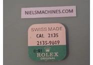 NOS FACTORY SEALED Rolex Genuine Caliber 2135 Date Wheel Jewel - Part 2135-9609 (3 pieces)