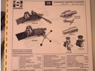 Schaublin 70 Parts: Lever-operated Turret Carriage