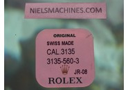 NOS FACTORY SEALED Rolex Genuine Caliber 3135 Spring Clip for Oscillating Weight .20mm - Part 3135-560-3