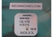 NOS FACTORY SEALED Rolex Genuine Caliber 4130 Driving Wheel For Ratchet Wheel - Part 4130-510