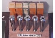 Emco L20 Spannzangen Satz ø2, 4, 6, 8, 10mm