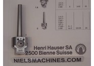 Hauser  Mini Boring/Facing Head Type 0 with Morse Taper 0