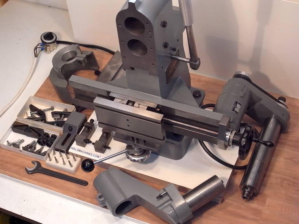 Used Milling Machine >> Tousdiamants (Swiss) Small Milling Machine - Niels Machines