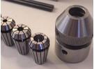 Emco Unimat 3 Collet Holder ER16 and 5 Rego-Fix collets