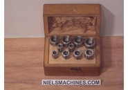 Wolf Jahn  & Co 6.5mm Collet Set ø5-14mm