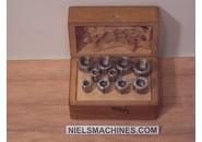 Wolf Jahn  & Co 6.5mm Spannzangen Satz ø5-14mm