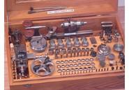 G. Boley 8mm Uhrmacher Drehbank mit FK Holzkiste