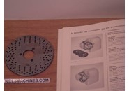 Sold: Schaublin 102 or  Schaublin 12 Dividing Attachment Perforated Disc No. 1