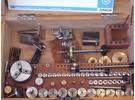 Lorch Junior Miniatur-Hochpräzisions Drehbank mit Große Zubehörsammenstellung