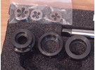Sold: AKON workpiece holder set size 2 for male and female thread