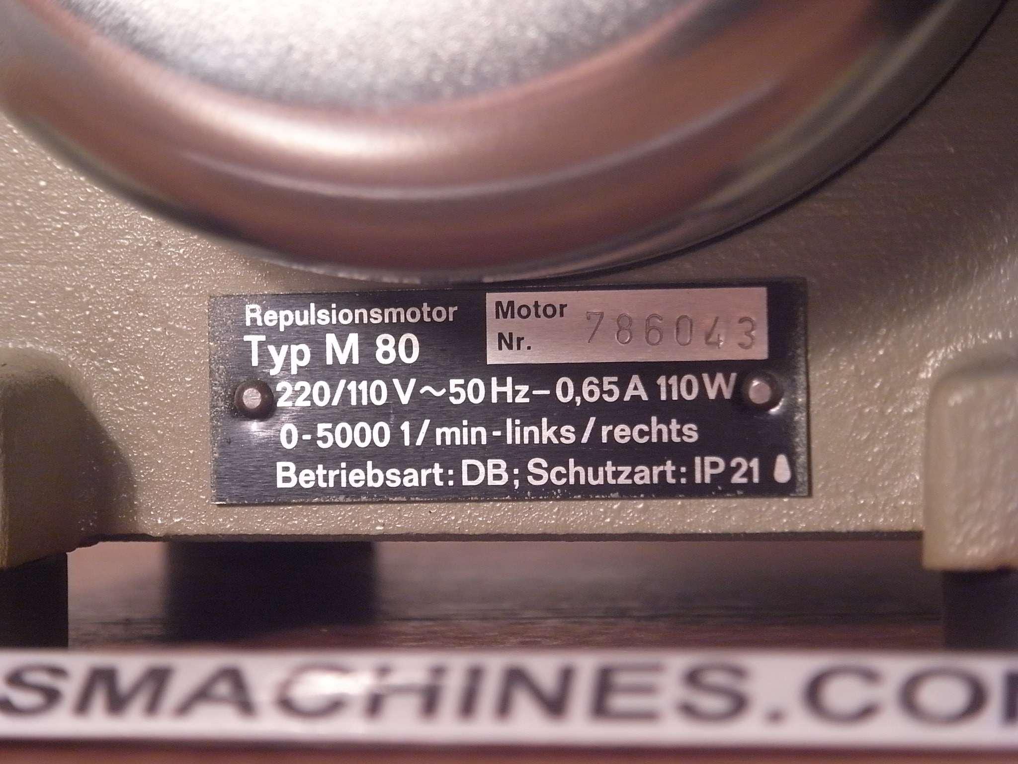 Bergeon Multifix M80 Motor