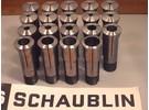 Sold: Schaublin W20 collets 19 pieces