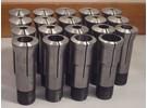 Verkauft: Schaublin W20 Spannzangen 19 Stück