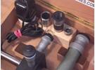 Marcel Aubert Zentrier und Koordinaten Mess Mikroskop