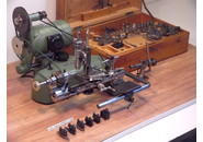Boley Leinen Reform 8mm WW- Bed Watchmakers Lathe