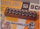 Schaublin B8 watchmaker ø8mm collets 0.3-6.5mm