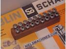 Verkauft: Schaublin B8 Uhrmacher ø8mm Spannzangen 0.3-6.5mm