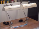Sold:   Industrial Machine Lamps - 2 Pieces