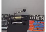 Schaublin 102 Bohr-Aufsatz mit Hebel F18 mit einstellbarem Anslag