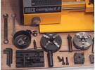 Emco Compact 5 Drehbank mit Zubehör