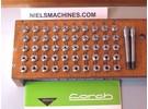 Lorch LAS Collet Set 50 pieces with ø10mm shank