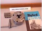 Sold: Myford Pratt Burnerd 4inch 4-jaw self centering chuck with Backplate ML7 Super7