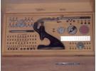 Bergeon Seitz Einpresstock, Steinpresse 4mm