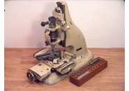 Vintage Henri Hauser Watchmaker Milling Machine