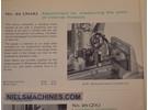 SIP Mu-214B Messmaschine Zubehör: Aufsatz zur Steigungsmessung von Gewinden