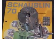 Sold: Schaublin 70 Pratt Griptru 3-Jaw Chuck