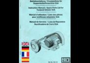 Emco Maximat Supportschleifmaschine S3A Betriebsanleitung (EN, DE, FR, ES) PDF