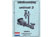 Emco Unimat 3 Lathe Manual  and Drawings package (NL) in PDF