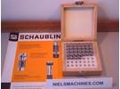 Sold: Schaublin B8 watchmaker ø8mm collets 0.1mm-6mm 32 Pieces (NOS)